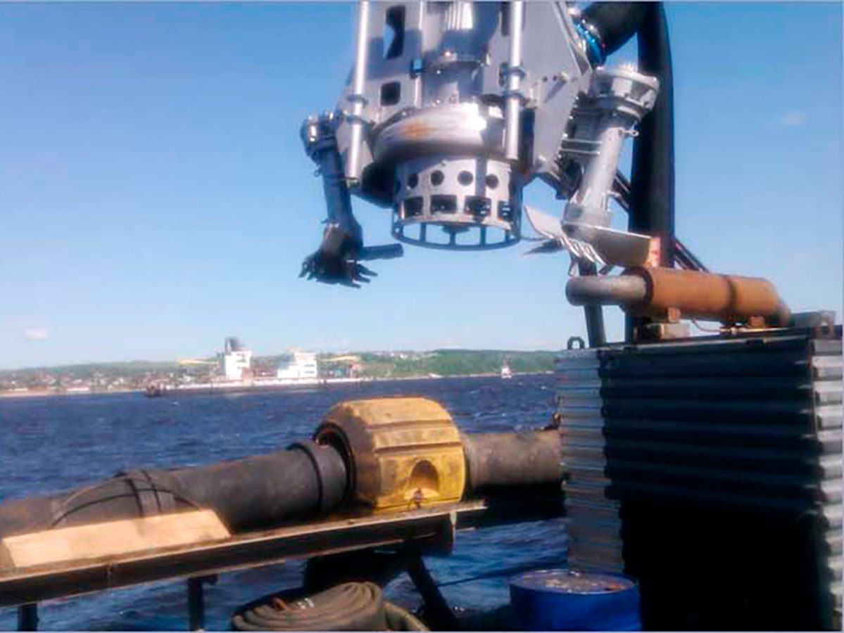 Погружной грунтовый шламовый насос DRAGFLOW HY400 + 2EXHY35