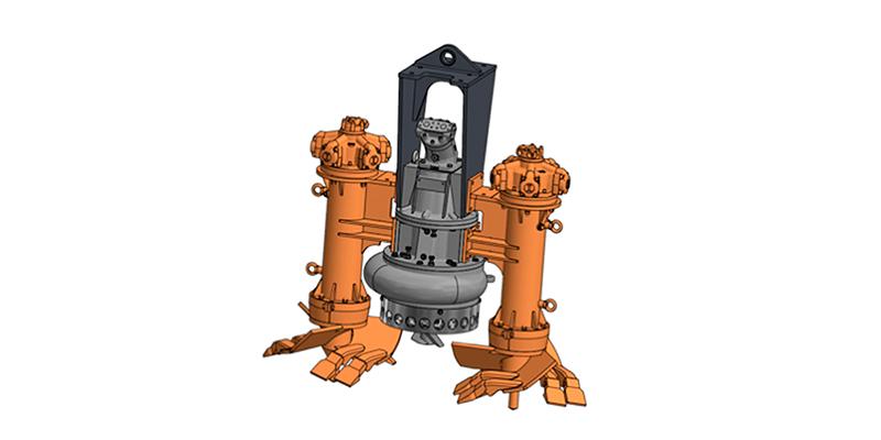 Насосное и дополнительное оборудование к земснаряду