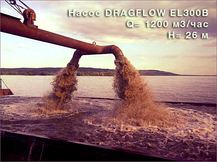Насос DRAGFLOW EL300B