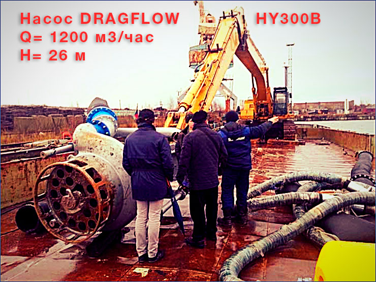 Насос DRAGFLOW HY300B