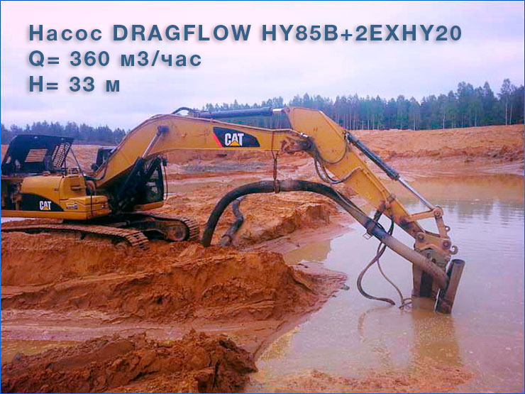 Насос DRAGFLOW HY85B +2EXHY20