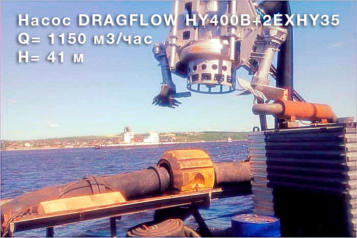 Насос DRAGFLOW HY400B +2EXHY35