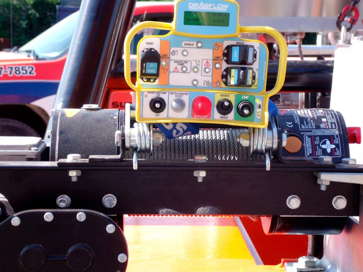 Земснаряд серии DRP c дноуглубительным грунтовым шламовым насосом DRAGFLOW HY50B с гидравлическим приводом