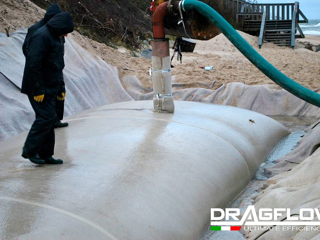 Дноуглубительный грунтовый насос DRAGFLOW HY85B