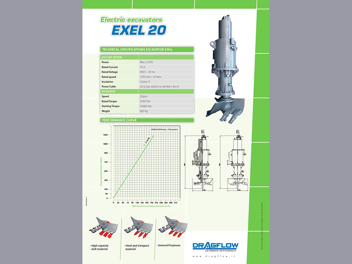 Рыхлитель DRAGFLOW EXEL20 c электрическим приводом