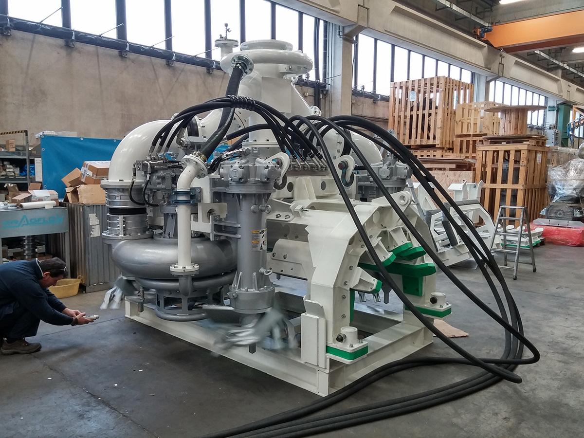 Насосное оборудование DRAGFLOW для строительства и обслуживания подводных трубопроводов, переходов, дюкеров
