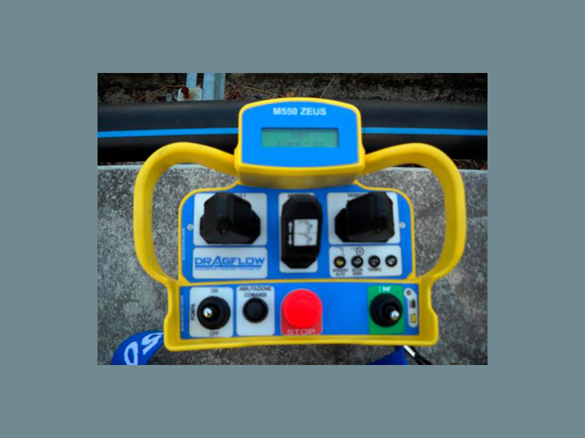 Пульт дистанционного управления. Земснаряд серии DRAGFLOW DRP1204 cо шламовым грунтовым насосом  DRAGFLOW
